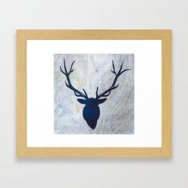 Antlers 1 Framed Art Print