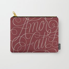 Amor Fati Red Carry-All Pouch