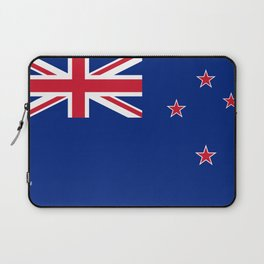 National flag of New Zealand - Authentic version to scale and color Laptop Sleeve