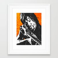 daryl Framed Art Prints featuring Daryl by ACHE