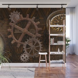 Comforts of Steampunk Wall Mural