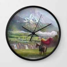 EPic vista  Wall Clock
