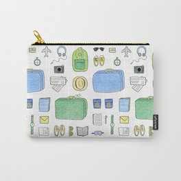 Happy Travels Carry-All Pouch
