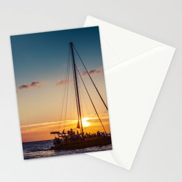 Sunset in Hawaii 0010 Stationery Cards
