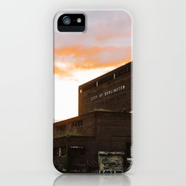 City of Burlington iPhone Case