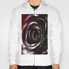 abstract rose #1 Hoody