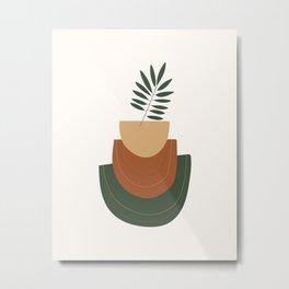 The Wall Theory Boho Art Print Metal Print