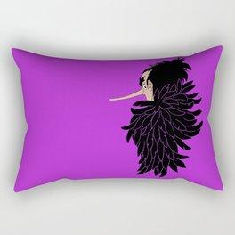 Karasu the Tengu Rectangular Pillow