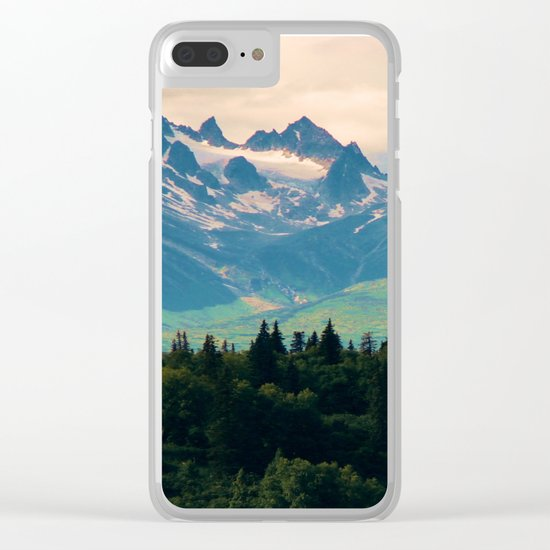 Escaping from woodland heights II Clear iPhone Case