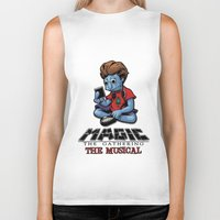 magic the gathering Biker Tanks featuring Magic The Gathering The Musical by Molly Coffee