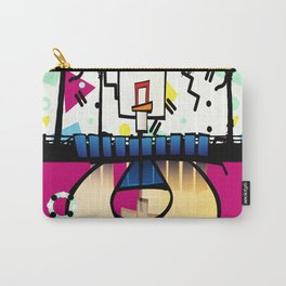 memphis  style baskbetball court Carry-All Pouch