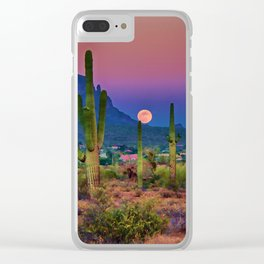 Postcard Perfect Arizona Clear iPhone Case