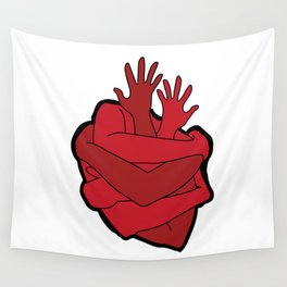 heart myself Wall Tapestry