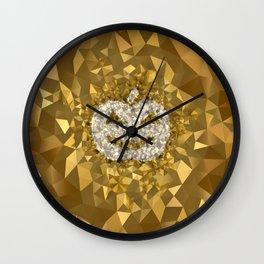 POLYNOID Pumpkin / Gold Edition Wall Clock
