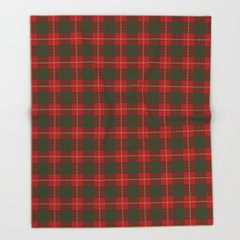 CAMARON TARTAN #1 Throw Blanket