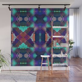 Abstract Patchwork Wall Mural