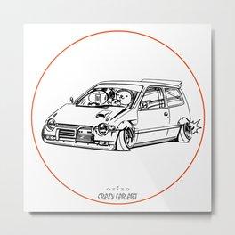 Crazy Car Art 0211 Metal Print