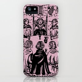 Knights of the Round Table iPhone Case