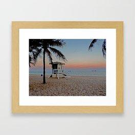 Las Olas Florida Framed Art Print
