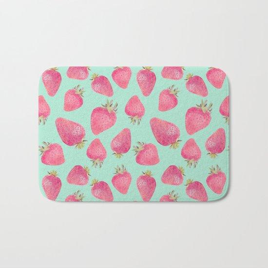 Strawberry  Bath Mat