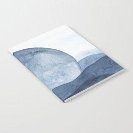 Moon Landscape Notebook