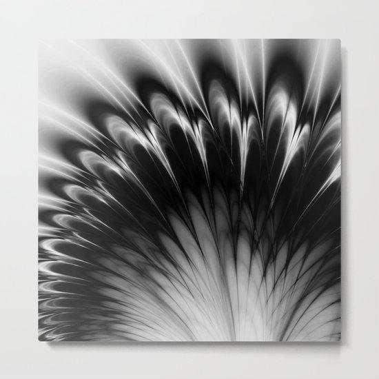 Black and White Elegance Metal Print