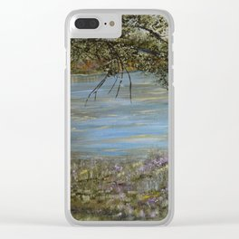 Morning Stillness Clear iPhone Case