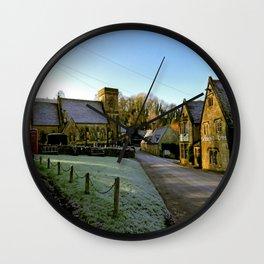 Frosty Snowshill Wall Clock