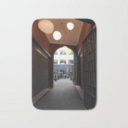 Copenhagen Archways Print | Urban Landscape Bath Mat