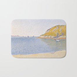 Port of Saint-Cast Bath Mat