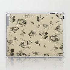 Lizards pattern (sepia) Laptop & iPad Skin