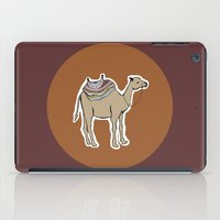 camel iPad Cases featuring camel by johanna strahl
