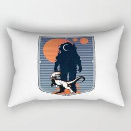 The Astronaut's Pet Rectangular Pillow