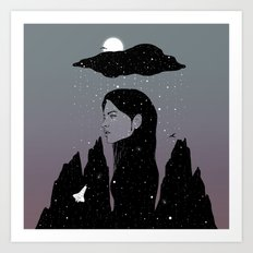 If My Dark Cloud Were Full of Stars (I'd Let It Hang Over Me) Art Print