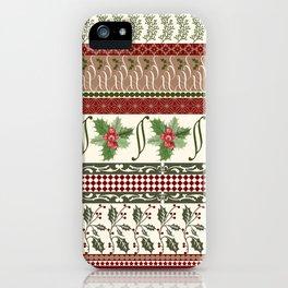 Mistletoe Ugly Sweater iPhone Case