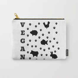 Vegano por los animales | Vegan for animals Carry-All Pouch