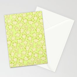 Wallflower - Butter Yellow Stationery Cards