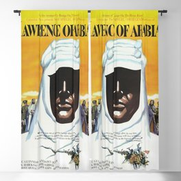 Vintage 1962 Lawrence of Arabia Movie Lobby Poster Blackout Curtain