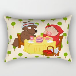 Little Red Riding Hood Rectangular Pillow