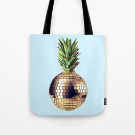Ananas party (pineapple) blue version Tote Bag