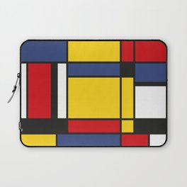 Downtown, Tribute to Mondrian Laptop Sleeve