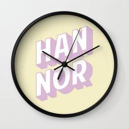HAN NOR Wall Clock