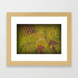 Grunge Background 4 Framed Art Print