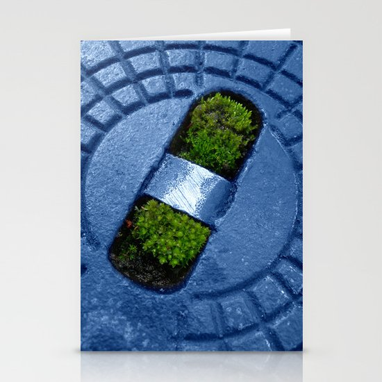 little green II Stationery Cards
