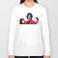 rocky horror Long Sleeve T-shirts featuring The Rocky Horror Picture Show - Pop Art by William Cuccio aka WCSmack