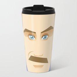 Will Ferrell as Ron Burgundy Travel Mug