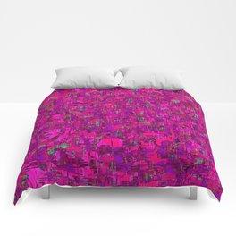 jazz in purple Comforters