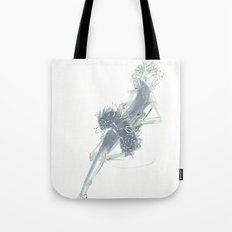 Relax in Grey  Tote Bag