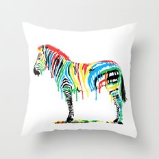 Fresh Paint Throw Pillow