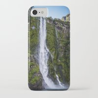 waterfall iPhone & iPod Cases featuring Waterfall.. by Michelle McConnell